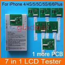 Dhl frei 2015 lcd-tester für iPhone 4 4S 5 5c 5s 6 6 plus touchscreen-display digitizer reparatur separator maschine werkzeugkasten gesetzt(China (Mainland))