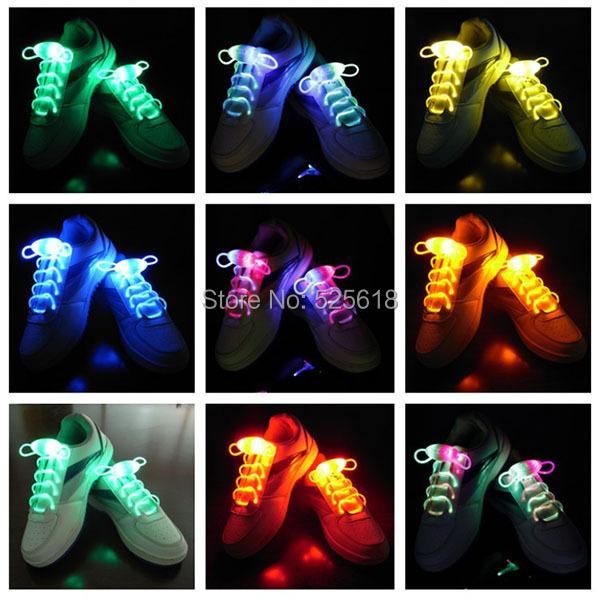 Ну вечеринку катание очаровательная из светодиодов вспышки свечения шнурки обуви светодиод шнурки шнурки