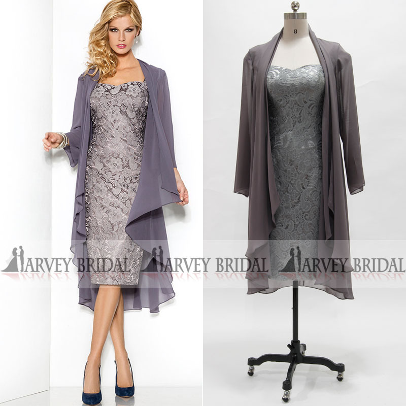 Plus Size Mother Of The Groom Dresses With Jackets - Ocodea.com
