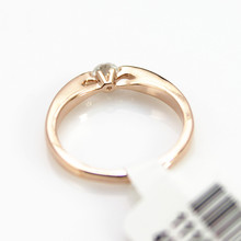 Fashion Crystal Ring 18K Rose Gold Plated Made with Genuine Austrian Crystals Full Sizes Wedding Ring
