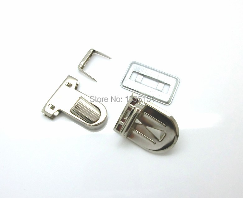 Free Shipping-10 Sets Silver Tone Handbag Bag Accessories Purse Snap Clasps/ Closure Lock 30x22mm 29x18mm 31x25mm,15x14mm D2118(China (Mainland))