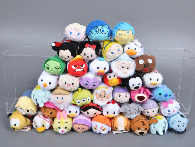 TSUM TSUM plush toy Cartoon phone Screen wipe key chain hot toys elsa anna olaf Kristoff Sven Hans stuffed Toy juguetes(China (Mainland))