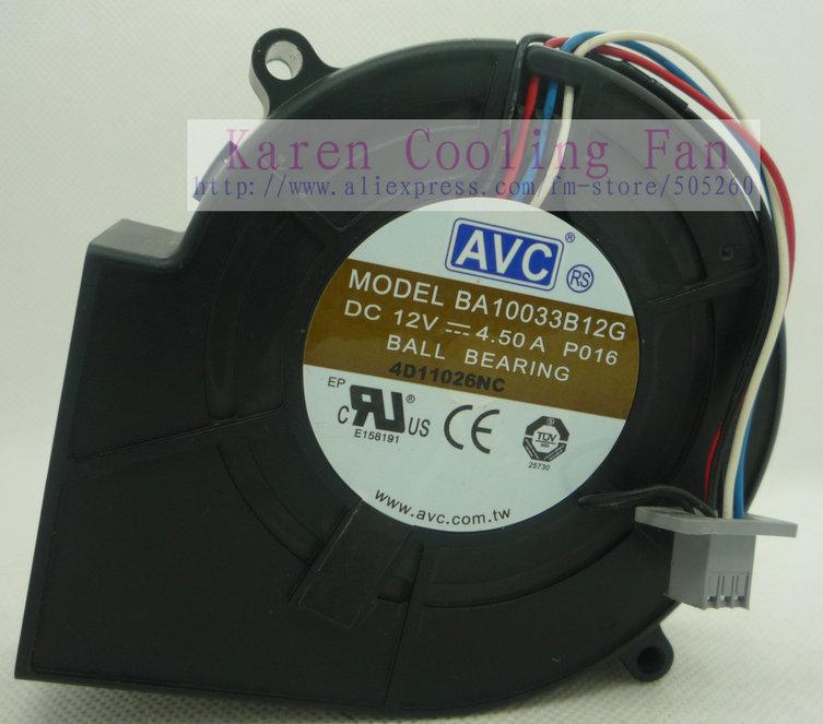 9cm 9733 12v 4.5a BA10033B12G Blower cooling fan<br><br>Aliexpress