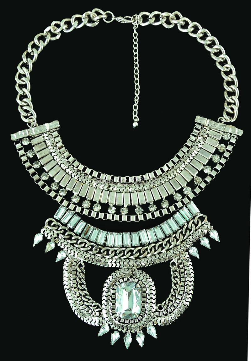 Large Chunky Fashion Necklaces European style fashion
