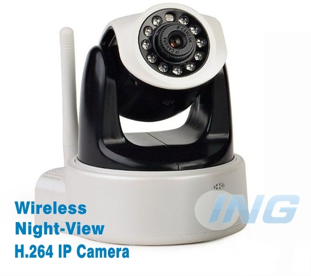 Free Shipping! 1280*720P HD Wifi Wireless IP Network Camera H.264 with IR-cut SD Card Slot Apple Android Windows System Support