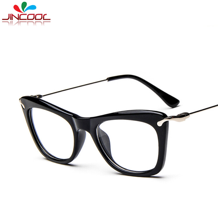 JinCool 2016 Fashion Cat Eye Glasses for Women Eyeglasses ...