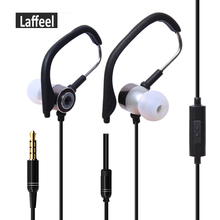 Universal 3.5mm Ear Hook sports Earphones Hifi Stereo Earphone running Earphones with Microphone for iPhone Samsung HTC MP3 MP4