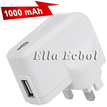 Free Shipping 100% Brand New Usb Mains Charger + Data Cable For Apple Iphone 4 4G