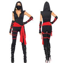 Black Ninja jumpsuits Costume