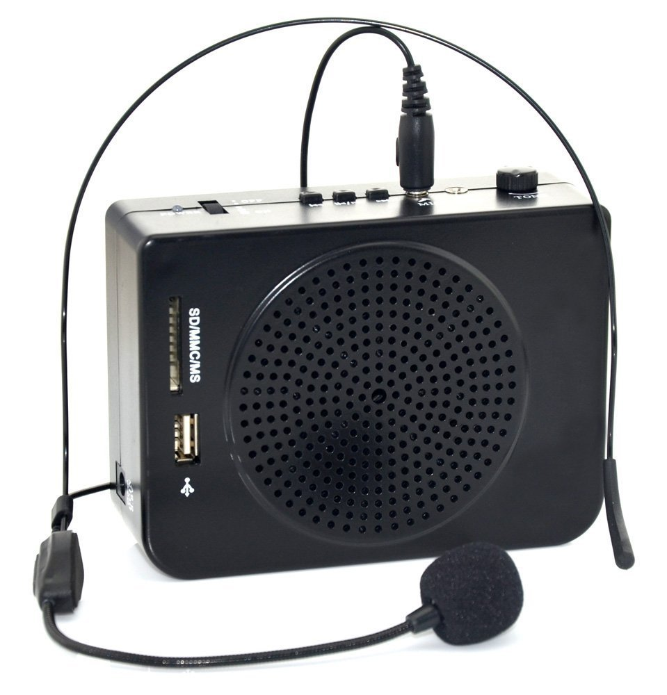 MR-2800 Voice Amplifier 16 Watts Portable and Durable PA System Waist-Band Megaphone Microphone LoudSpeaker for Teachers(China (Mainland))
