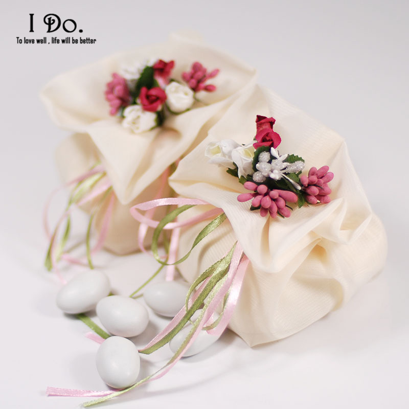 Free Shipping 10pcs Wedding Favor Pouch Wedding Candy Box Lembrancinhas Casamento Wedding Favors And Gifts Wedding Sweet Box(China (Mainland))