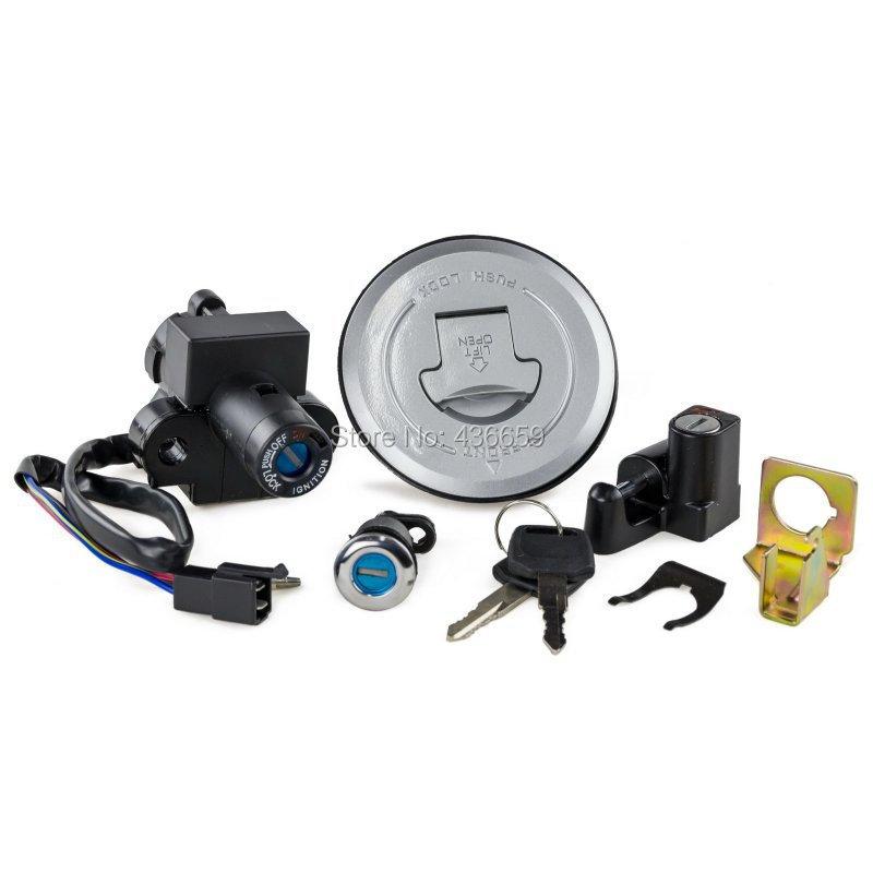 Motorcycle Ignition Switch Gas Cap Cover Key Lock Set Honda CB600F Hornet 599 1998-2002 - DIRT BIKE store