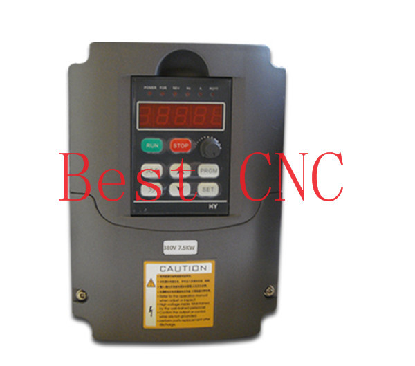 Variable Frequency Drive VFD Inverter 7.5kw 5HP 7.5kw inverter cnc(China (Mainland))