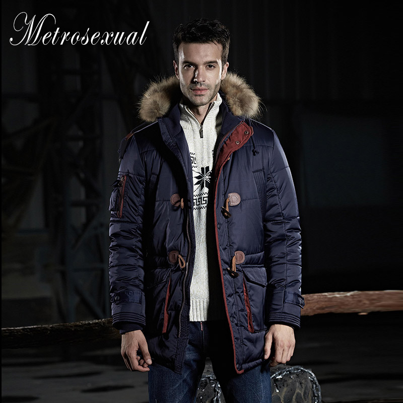 2015 Winter Brand Men's Jacket & Parkas Coat Thick Man Jackets Warm Chaquetas Outdoors Plus Size