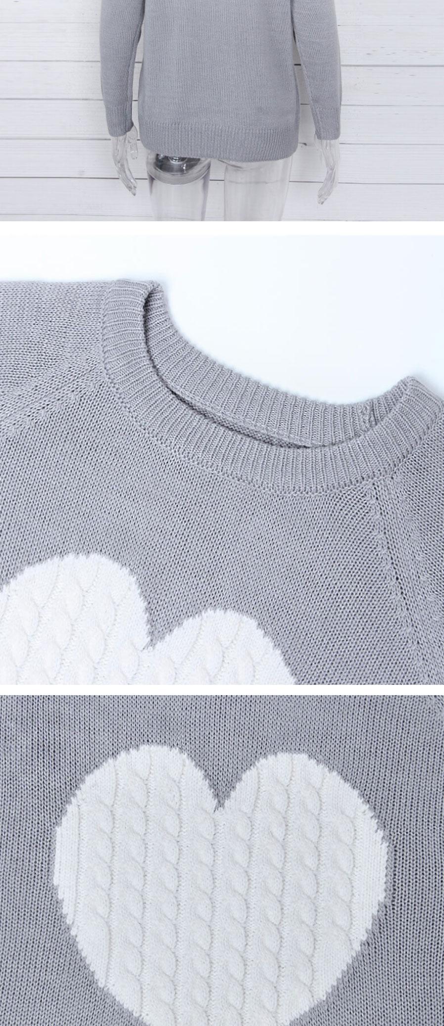 otoño invierno suéter de las mujeres de manga larga jersey básico ...