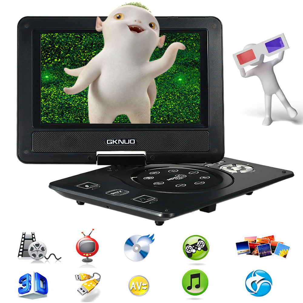 2016 GKNUO GKN-900 Digital Multimedia Player ADW930 9 Inch DVD Player Support U Drive Play Card Reader FM / TV / Game Function(China (Mainland))