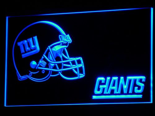 b329 NY New York Giants Helmet NR LED Neon Sign with On/Off Switch 7 Colors to choose(China (Mainland))