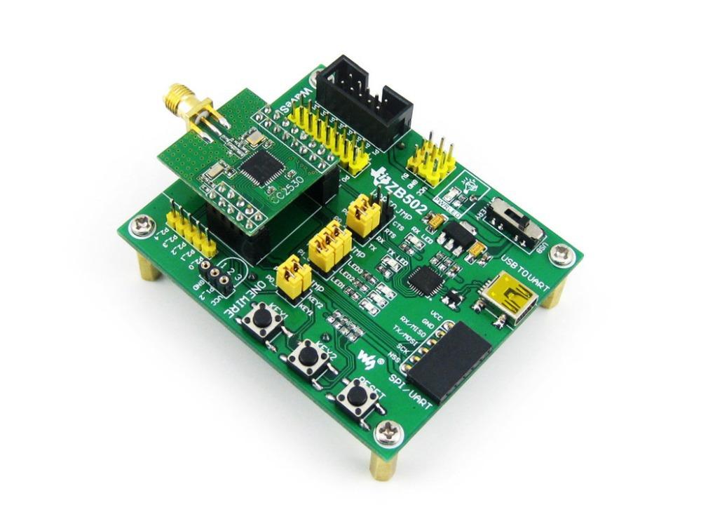 Free Shipping Zigbee Module cc2530 Zigbee Wireless Module Development Board Module CC2530f256 Development Kit(China (Mainland))