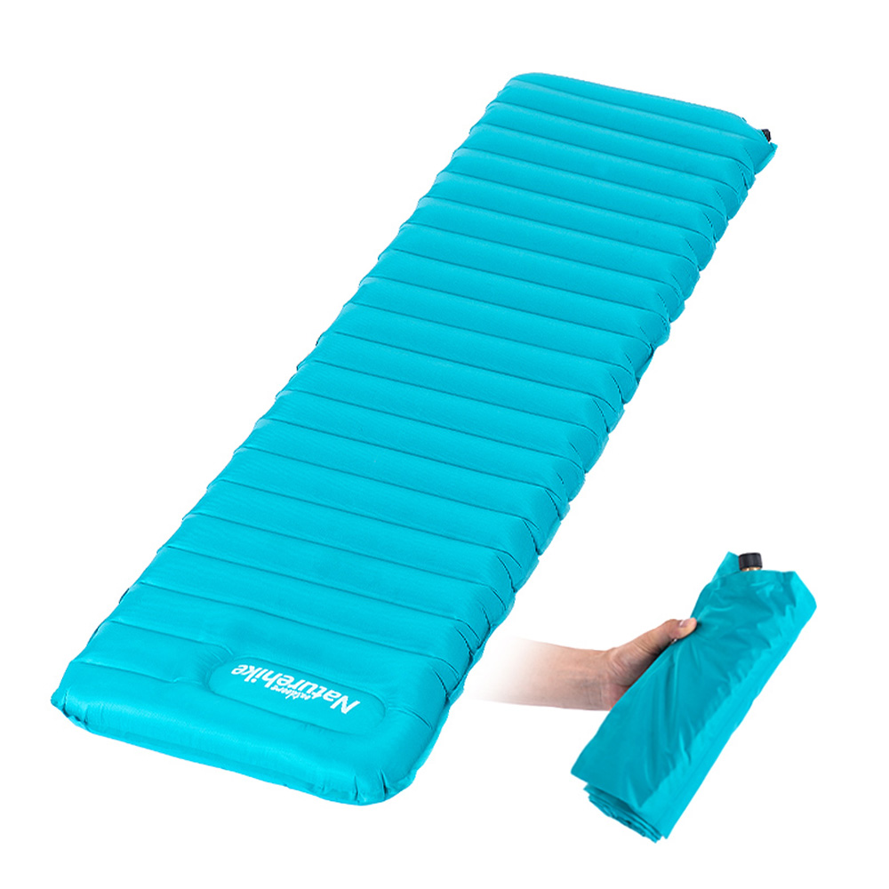 Naturehike Ultralight Manual Inflatable Hand Press Inflating Dampproof Sleeping Pad Outdoor Camping Tent Air Mat Mattress(China (Mainland))