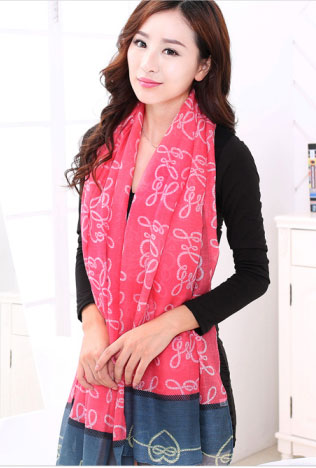 2015 Women Brand Silk Scarf Long Winter Warm Birthdays Gift 100x180cm free shipping scarf women(China (Mainland))