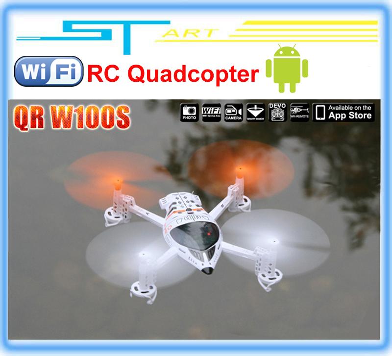 Upgrade Version WALKERA QR W100S WIFI FPV RC Quadcopter Drone UFO With Camera