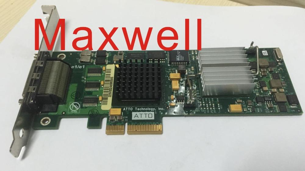 412911 B21 AH627-60002 445009-002 PCIe U320 SCSI DUAL CHANNEL HOST BUS ADAPTER ...