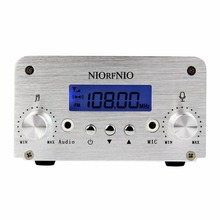 Hot 1W 6W PLL FM Transmitter Mini Radio Stereo Station Broadcast Power Antenna FM Transmitter Y4331D