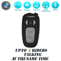 1X 1500M for 4 Riders BT Motorcycle Helmet Headset Intercom wireless capacete Bluetooth interphone intercomunicadores de