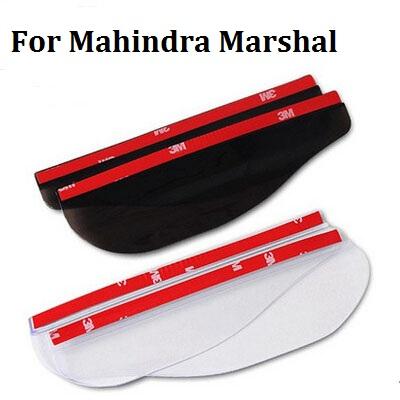 (1pair/bag)2 Color Car Rearview Mirror Eyebrow Rain Shade Cover For Mahindra Marshal Free shipping(China (Mainland))