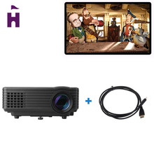 Original Excelvan RD-805 Mini LED Projector HDMI Home Theater Beamer Multimedia Portable Proyector Support 1080P Video Projector(China (Mainland))