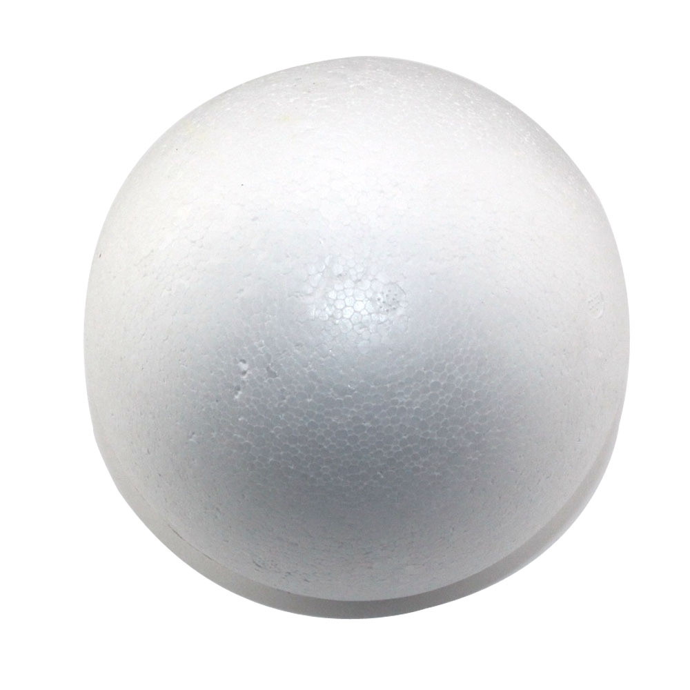 free shiping wholesale 8cm natural white styrofoam round
