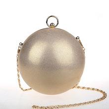 Ladies Evening Hand Bag Famous Brand Designer Mini Round Bags Dinner Party Dress Globe Shape Clutch Women Ball Chain Bag XA646H(China (Mainland))
