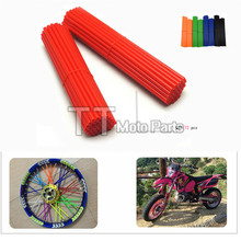 Universal Wheel RIM SPOKE SKINS COVERS Dirt Biker CR YZ RM KX 80 125 250 450 500 CRF YZF RMZ KXF KTM - MOTORCYCLE ACCESSORIES ZONE store