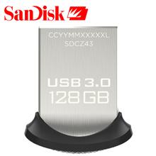 SanDisk Ultra Fit USB 3.0 Flash Drive CZ43 16GB 32GB 64GB Micro usb flash drives pen drive 64gb external storage memory stick(China (Mainland))