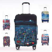 Buy Travel Luggage Suitcase Protective Cover, Stretch, made S/M/L/XL, Apply 18-30inch Cases, Travel Accessories for $11.40 in AliExpress store
