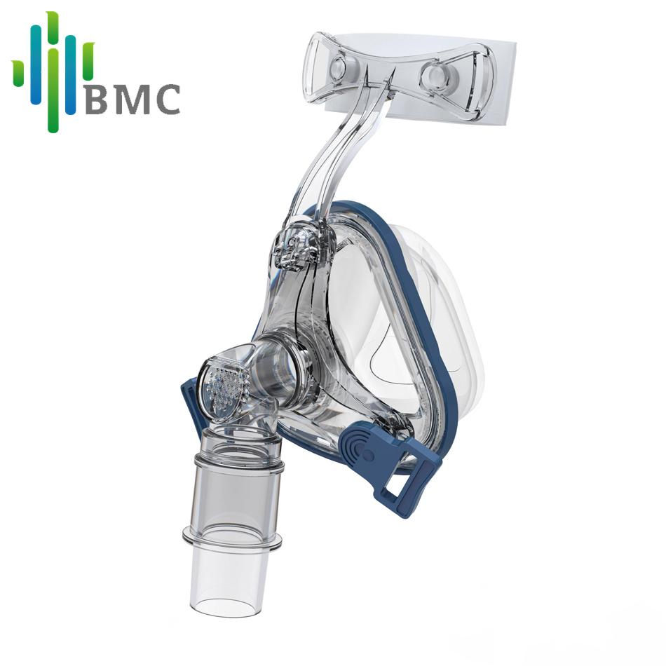 BMC NM1 Nasal Mask For CPAP Realistic Silicone Gel Masks Interface Plus Size ML Adjustable Headgear Comfortable Pad(China (Mainland))