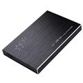 UN2F Aluminum USB 3 0 External HDD SDD Enclosure 2 5 Inch SATA 3 Hard Disk