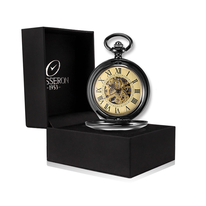 online get cheap resin wind up watch for men aliexpress com besseron steampunk mechanical pocket watch men