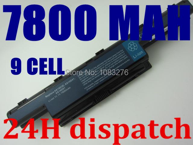 Laptop Battery for Acer Aspire 5336 5342 5349 5551 5560G 5733 5733Z 5741 5742 5742G 5742Z 5742ZG 5749 5750 5750G 5755 5755G(China (Mainland))