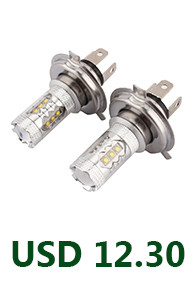 Car-Styling 2 x H7 Car Xenon HID Bulbs Adapters Holders 12V 35W Holders For Hyundai Genesis Coupe & Veloster K5