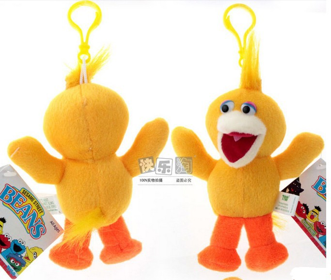 plush toy doll baby toy Sesame Street bed and car hang toy 5pcs/lot free shipping(China (Mainland))
