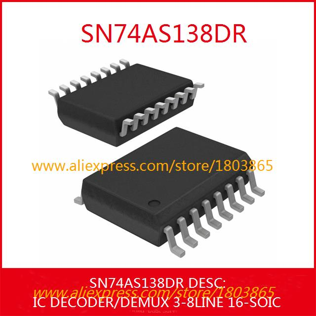 Free Shipping Diy Electronic SN74AS138DR IC DECODER/DEMUX 3-8LINE 16-SOIC 138 SN74AS138 3pcs(China (Mainland))
