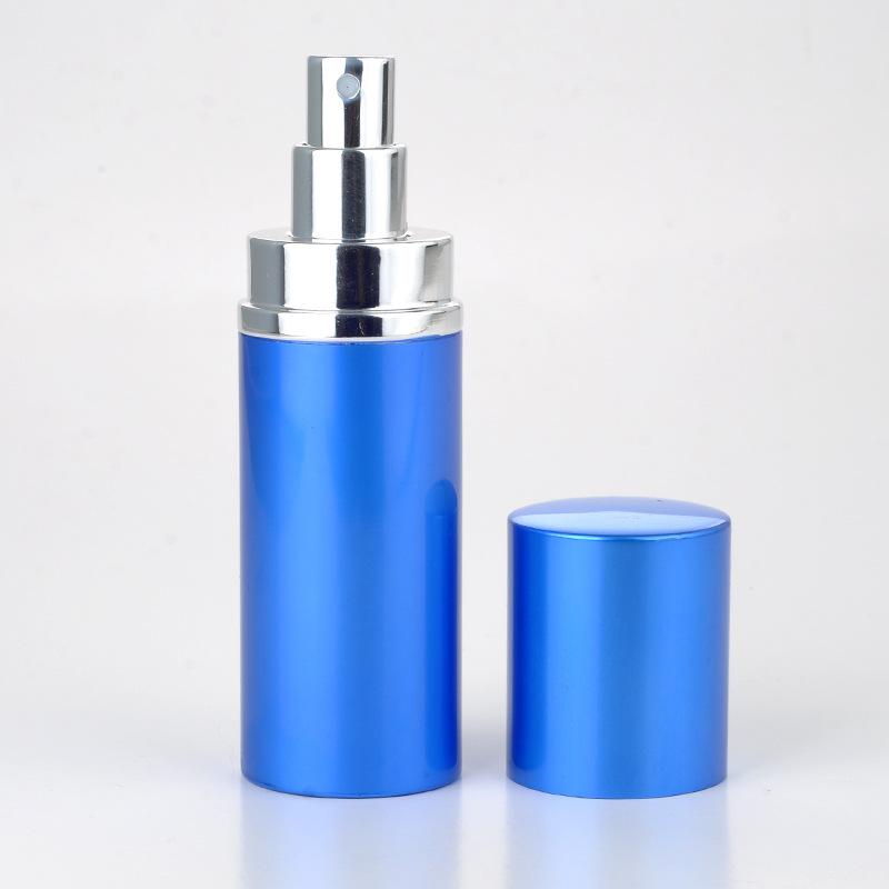 50ml portable spray bottle Smooth perfume bottle Boutique travel Eau De Toilette(China (Mainland))