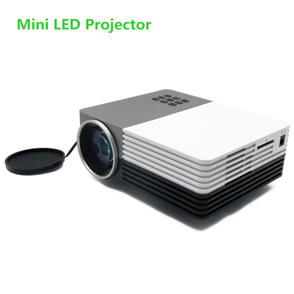 Portable GM50 Projector Mini Led Projector Home Theater Proyector Full HD<br><br>Aliexpress