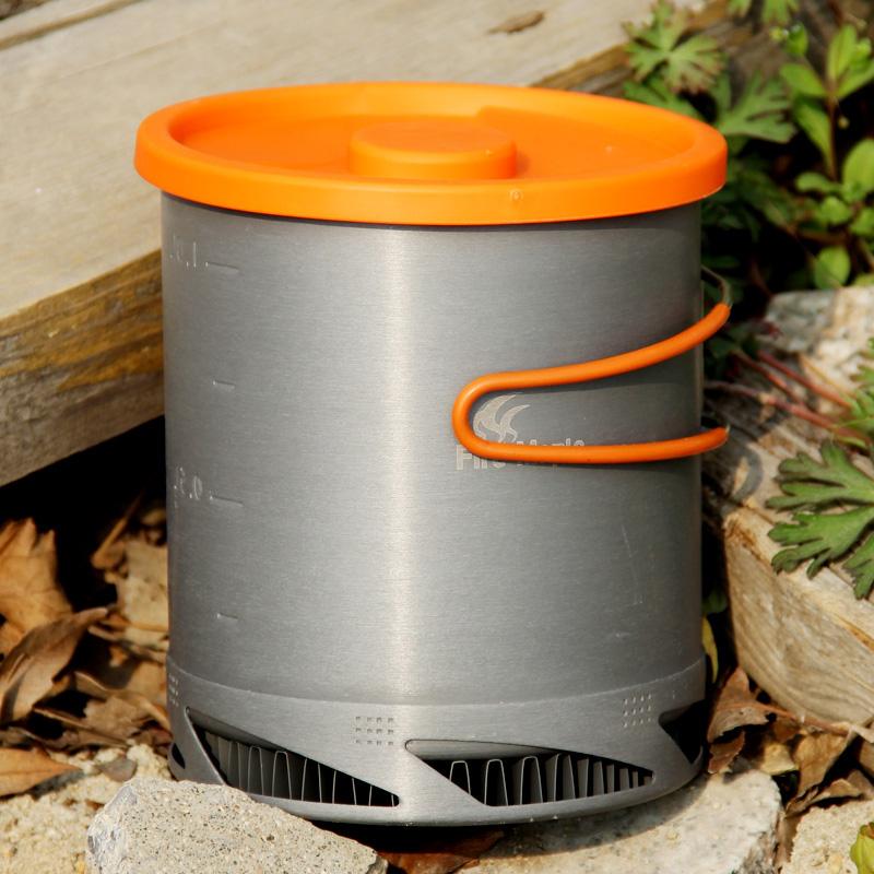 Fire Maple Heat Exchanger Pot Outdoor Camping Pot Picnic Kettle Cooking Pot Cookware(China (Mainland))