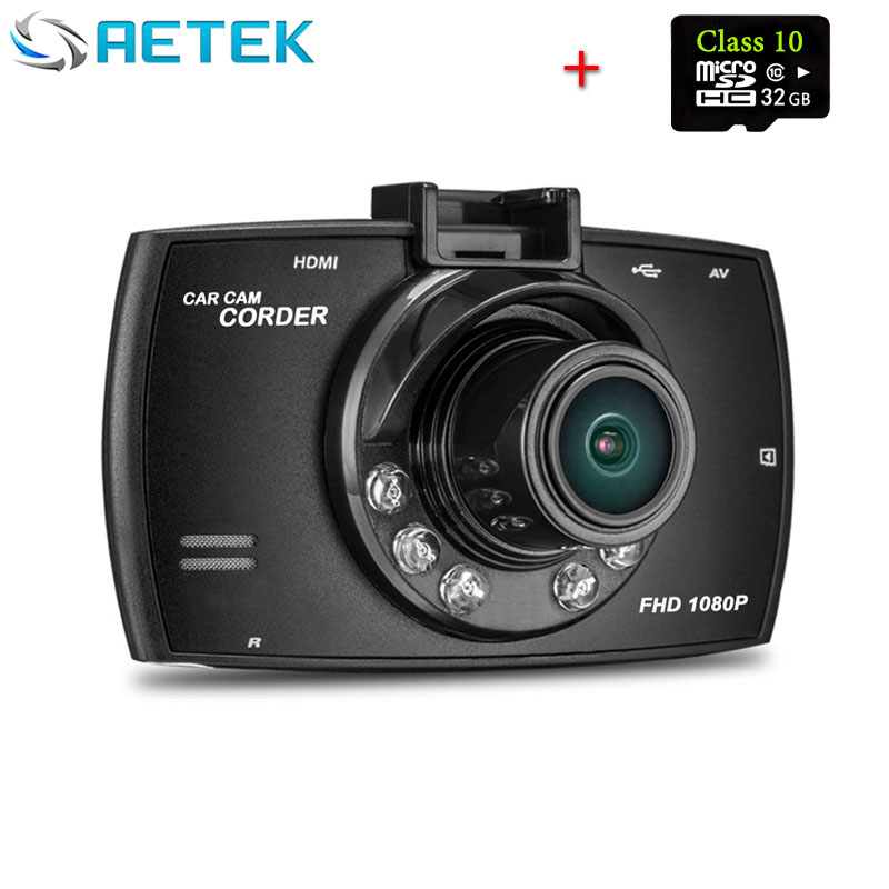 Promotion Novatek G30 Car Camera Dvr Full HD 1080p 2.7'' LCD Camara Automovil Night Vision DashCam Camcorder with 32G TF card(China (Mainland))