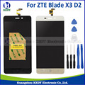 1PCS For ZTE Blade X3 D2 T620 A452 LCD Display Touch Screen Touch Panel Digitizer Assembly