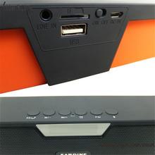 Symrun Sdy-019 Hifi Bluetooth Speaker With Clock Screen Sdy019 Sardine Fm Radio Tf Card Sdy-019 Bluetooth