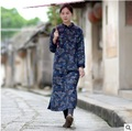 New products listed in the winter of 2016 the original design 100 cotton linen frocks of