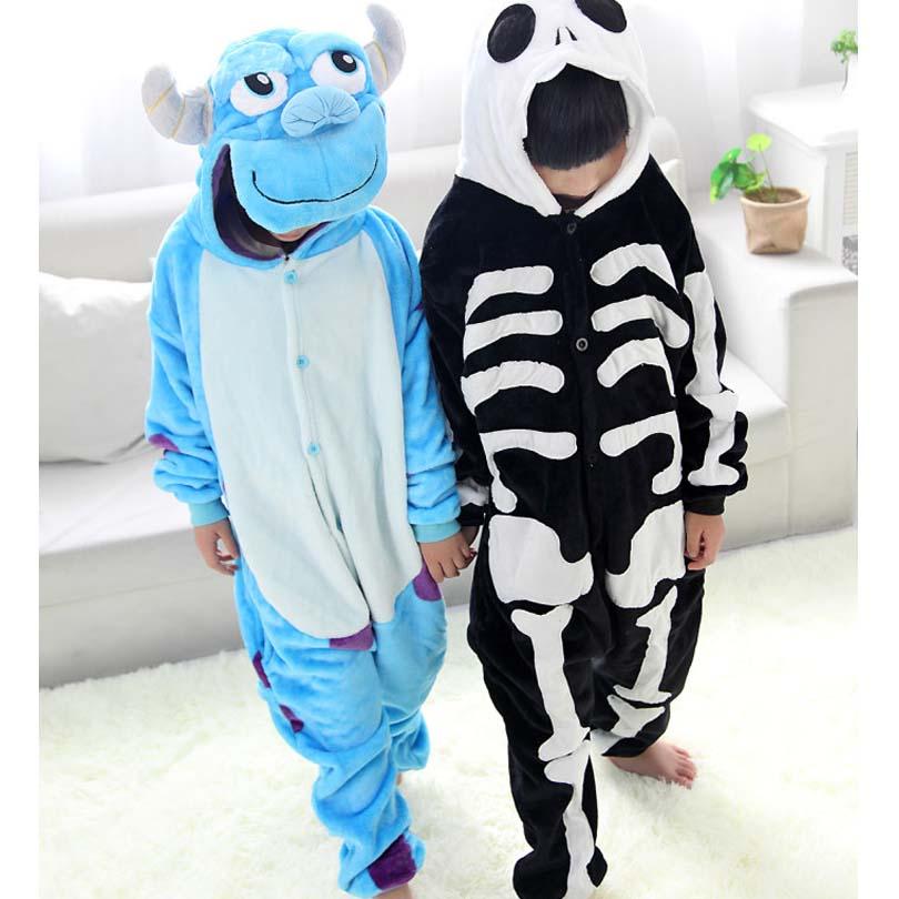Кигуруми Дети Лев Onesie забавная Пижама мальчики девочки партии Хэллоуин костюм 3